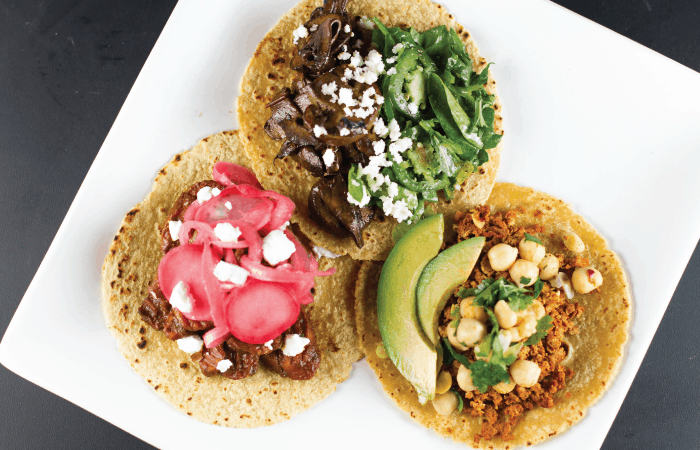 3 Vegetarian Tacos Worth Dying For