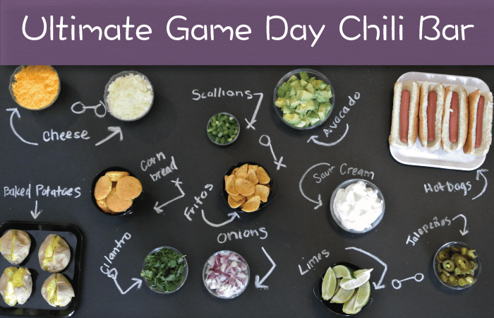 Autonomy of a Chili Bar – Create The Ultimate Game Day Chili Bar