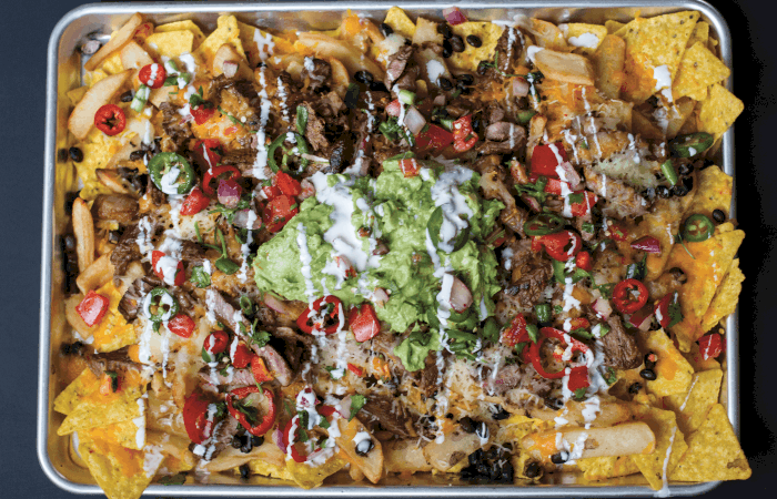 Loaded Monster Carne Asada Nachos