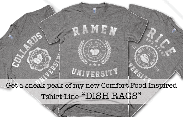 Guess Who's Starting A New Comfort Food Tshirt Line???