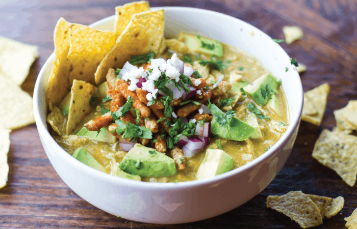 Green Chicken Tortilla Soup
