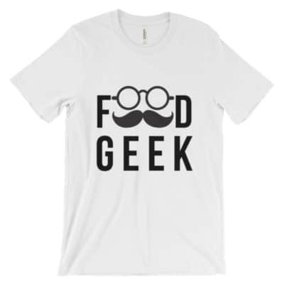 Food Geek Unisex t-shirt