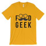 Food Geek Unisex t-shirt